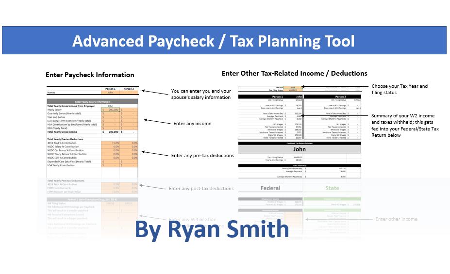 Advanced Paycheck/Tax Calculator by Ryan Smith – SoothSawyer